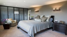 Master Bedroom Suite - San Francisco - Diamond Heights - Square One Interiors | San Francisco Interior Design
