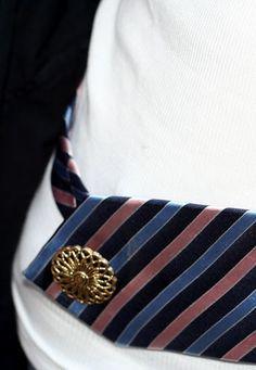 tie as a belt