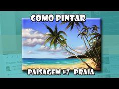 Como Pintar: Paisagem #7 Praia (Passo a Passo) - YouTube