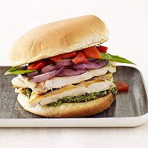 WW - Italian Grilled Chicken Sandwiches 7 pts