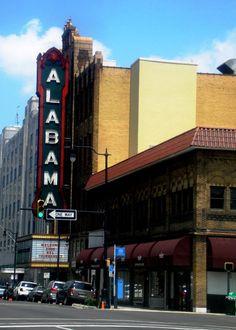 The Alabama Theatre- downtown Birmingham