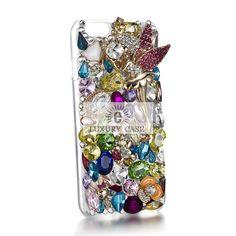 Swarovski element iPhone 6 Case Bling Cover angel design. http://eluxurycase.com/amazing-angel-case-for-iphone-6
