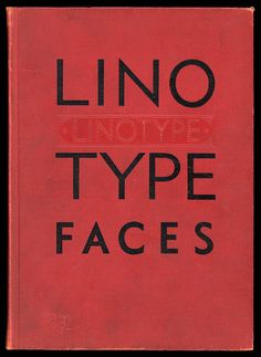 Linotype #specimen