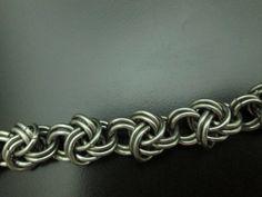 Double Spiral Half Byzantine plus one Bracelet