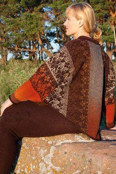 Kauni yarn Poncho