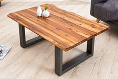 Coffe Table, Dining Table, Live Edge Furniture, Diy Holz, Garden Table, Wood Art, Pallet, Living Room Decor, Things To Sell
