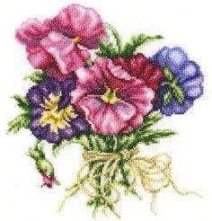 Merejka Cross Stitch Kit-Wildrose Bayas