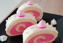 Málnahabos piskótarolád Zsuzsa konyhájából Desserts, Tailgate Desserts, Deserts, Postres, Dessert, Plated Desserts