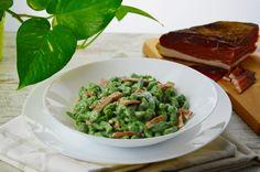 Spaztle di spinaci con speck e panna   Il gatto pasticcione   Bloglovin'
