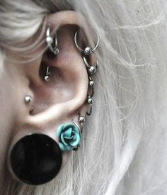 #Tunnel #piercingjewelry   Our online store gives you good opportunity to look through the plenty of various #talons, #plugs, #tusks, #tunnels, rings and so on for your ears