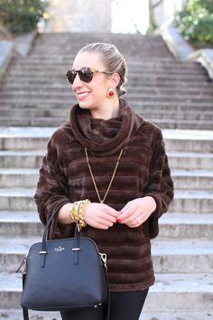 Fashionable Fur Tunic