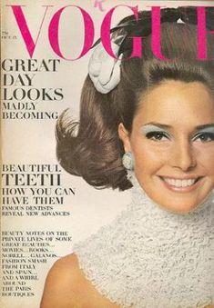 Vintage Vogue magazine covers - mylusciouslife.com - Vintage Vogue October 1967 - Jennifer ONeill.jpg