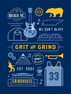Memphis Grizzlies 'Grit and Grind' Poster - Hooped Up Memphis Basketball, Basketball Art, Grizzlies Basketball, Basketball Bedroom, Basketball Scoreboard, Memphis Grizzlies, Memphis Tennessee, Basketball Highlights, Memphis Tigers