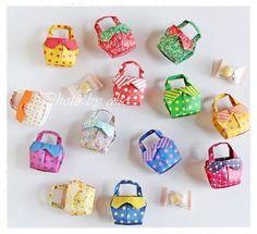 リボンのバッグの画像   折り紙作品