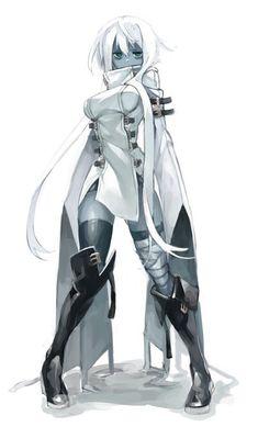Art of Anime / Manga Female Character Design, Character Design References, Character Design Inspiration, Character Art, Alien Character, Art Manga, Art Anime, Fantasy Anime, Fantasy Girl