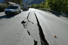 Italy quake made ground move 70cm #Geology #GeologyPage