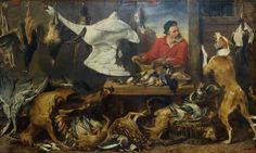 * Frans Snyders - - - Game stall