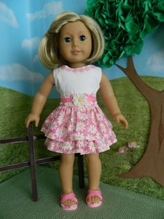 18 inch doll clothes American Girl doll clothes by SewCuteJune, $19.99