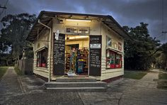 Demolished: This iconic little 1920s corner shop in Asquith Sydney.