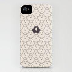 Black Sheep iPhone Case by Davies Babies - $35.00