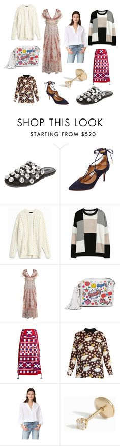 """""""Feel new experience...."""" by cate-jennifer on Polyvore featuring Alexander Wang, Aquazzura, 10 Crosby Derek Lam, Etro, Anya Hindmarch, Vita Kin, Marni, Tome, Yvonne Léon and vintage"""