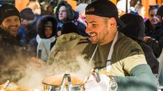 People love cooking chili. We cooked 50 gallons of it for the Harvard Square chili cook-off. Here's how it went.