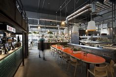 DF/Mexico (Distrito Federal Mexico), Old Truman Brewery on Brick Lane in London - designed by creative agency Softroom