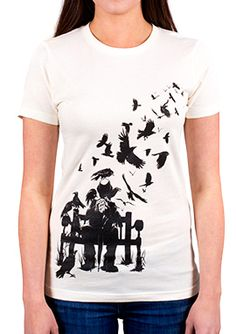 BioShock Infinite A Murder of Crows T-Shirt (Women's) via the Irrational Games Store
