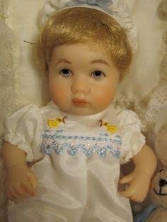 "Richard Simmons Beloved Babies ""Bud's Layette"" Doll NRFB Goebel"