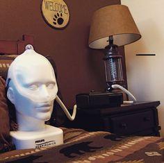 Our buddy Philly R. is looking happy in his CPAP. :) #innovativesleepcenters #innovativesleeping #cpap #breathe #stopsnoring #sleep #narcolepsy #sleepstudy #remsleep #pnw #WA #tumwater #olywa #olympia #wa #washington #mymixx96 #mannequin