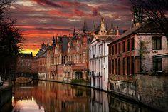 """""""Brugge"""" Bridge in Belgium"""