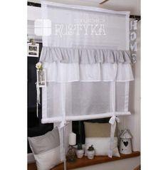 Mini roletka z etaminy i bawełny Home Sweet Home Sweet Home, Deco, Curtains, Easy Curtains, Blinds, House Beautiful, Decor, Deko