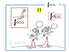 Orientación Andújar: Completo método de lectoescritura paso a paso letras f de foca
