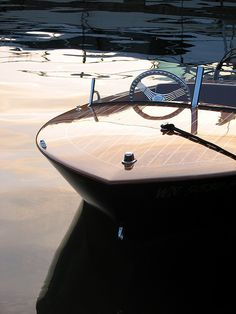 Chris Craft... The boat I will drive when I'm too old to ski behind one.