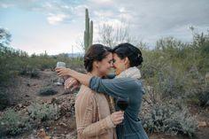 AZ Mountaintop Lesbian Wedding by Steph Grant