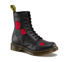 Embroidered Doc Martens.  Yes, Please.