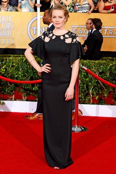 Cara Theobold in Alice by Temperley - 2014 SAG Awards