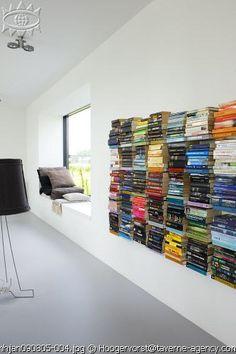 Concealed bookshelves