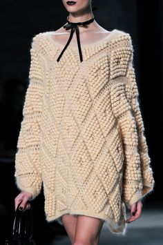 #Details at #Zimmermann #FW #2014 | #NYFW #Trend - #Oversized and #knitwear