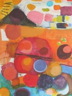 """Saatchi Art Artist Sarah Stokes; Painting, """"on the road to rock and roll"""" #art"""