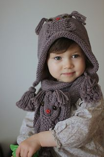 Ravelry: bloshka's Owl ways scarf Crochet Socks, Crochet Baby, Crocheted Hats, Ravelry, Children, Kids, Winter Hats, Owl, Knitting