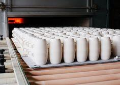 Glühbrand, Herstellung, Kahla Porzellan