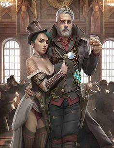 Check out my Instagram page for more steampunk related contend. Do not forget to follow.