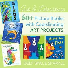 Art Curriculum Inspired by Books