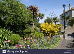 The War Memorial Gardens (right beside the Anglican Church), St. Ives, Cornwall…