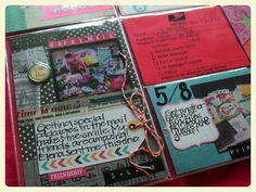 """Project Life Inspiration: """"Happy Mail"""" -- From My Blog, A Crafty Island Girl -CLM"""