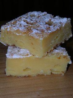 carrés fondants au chocolat blanc et lait concentré