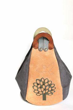 "Made by Arina Rasputina: Сумка-рюкзак ""Birds"""
