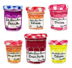 charming fruit jellies