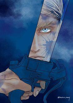 Attack on Titan - Erwin Smith Armin, Mikasa, Fanart, Anime Manga, Anime Art, Levi And Erwin, Humanoid Creatures, Memes, Eruri